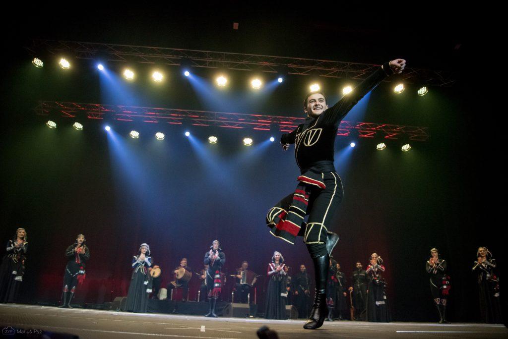 """Sakartvelo šokių ir muzikos ansamblio """"Gori"""""""