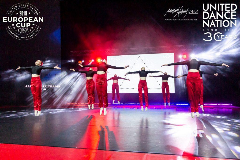 tarptautinis šokių čempionatas European Cup 2019